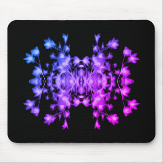 Rainbow Abstract Floral Graphic Pattern Mouse Pad