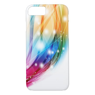 Rainbow Abstract of Love iPhone 7 Case