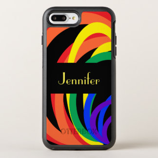 Rainbow Abstract OtterBox iPhone 8/7 Plus Case