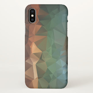 Rainbow Abstract Pyramid Art iPhone X Case
