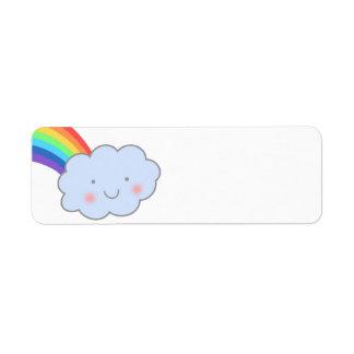 Rainbow After Rain Return Address Labels