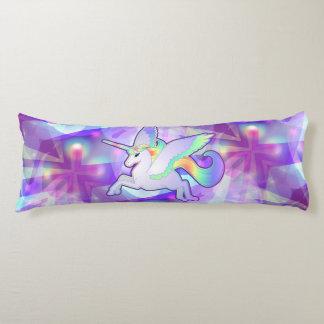Rainbow Alicorn Body Cushion