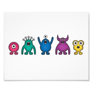 Rainbow Alien Monsters Photo