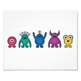 Rainbow Alien Monsters Photo