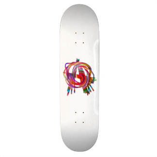 rainbow anarchy skateboard