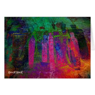 Rainbow Ancestors Card