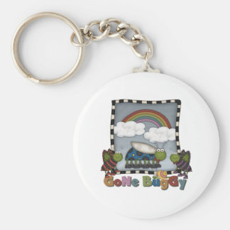 Rainbow and Bugs Gone Buggy Keychains