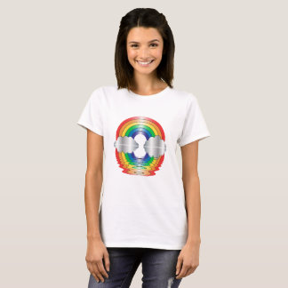Rainbow and Clouds Reflection LGBT Shirt