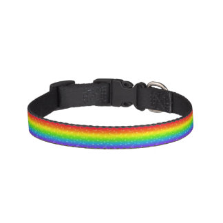 Rainbow and Stars Animal Collar Dog Collar