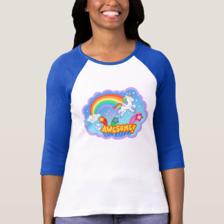 Rainbow and unicorn t-shirt