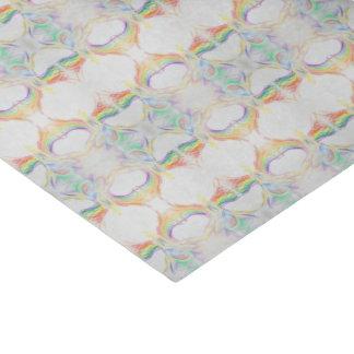 rainbow angel pattern tissue tissue paper