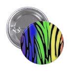 Rainbow Animal Print Button