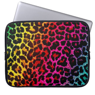 Rainbow Animal Print Laptop bag