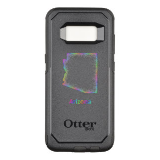 Rainbow Arizona map OtterBox Commuter Samsung Galaxy S8 Case