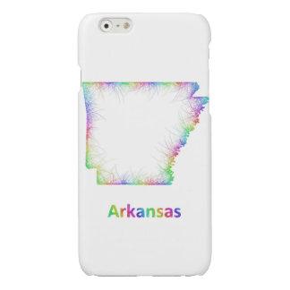 Rainbow Arkansas map