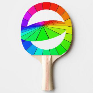 Rainbow Art Optical Illusion Table Tennis Gifts