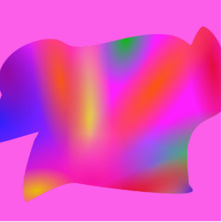 Rainbow Art Pink Cut Out