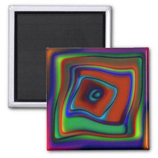 Rainbow Askew Refrigerator Magnets