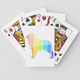 Rainbow Aussie Poker Deck