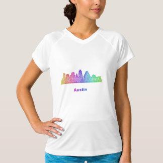 Rainbow Austin skyline T-Shirt