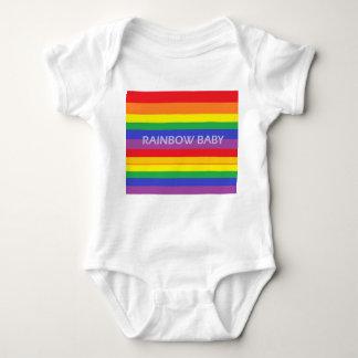Rainbow baby baby bodysuit