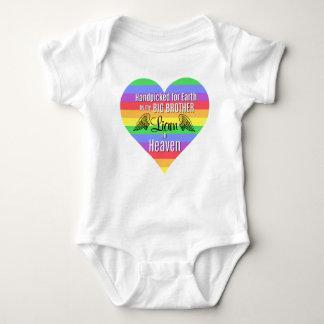 Rainbow Baby | Big Brother | Personalized Bodysuit