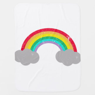 Rainbow Baby Swaddle Blankets