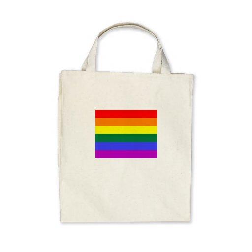 Rainbow Canvas Bag