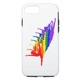 Rainbow ballerinas leaping iPhone 7 case