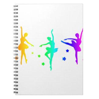 Rainbow Ballet Notebooks