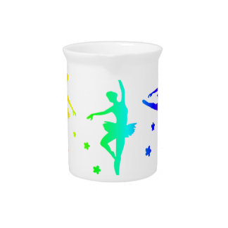 Rainbow Ballet Pitcher