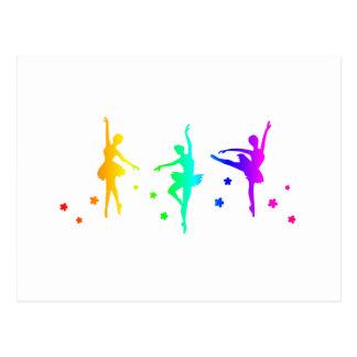 Rainbow Ballet Postcard