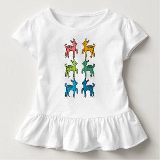 Rainbow Bambi Pattern Toddler T-Shirt