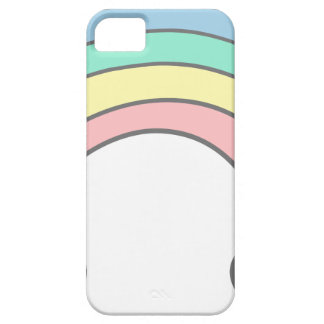 rainbow barely there iPhone 5 case