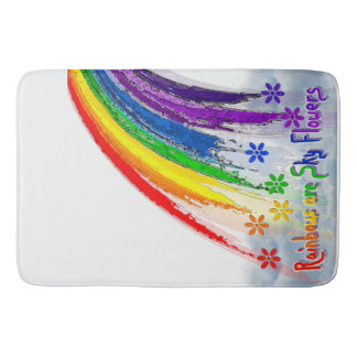 Rainbow Bathroom Set Rainbow Mat Bath Mats