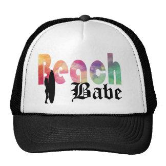 RAINBOW BEACH BABE SURF GIRL CAP