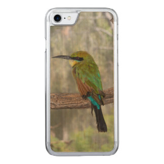 Rainbow bee-eater bird, Australia Carved iPhone 7 Case