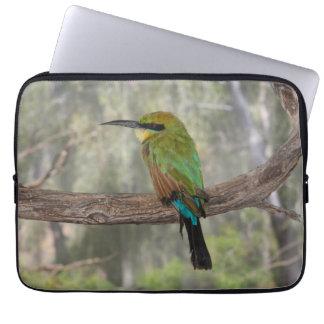 Rainbow bee-eater bird, Australia Laptop Sleeve