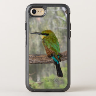 Rainbow bee-eater bird, Australia OtterBox Symmetry iPhone 8/7 Case