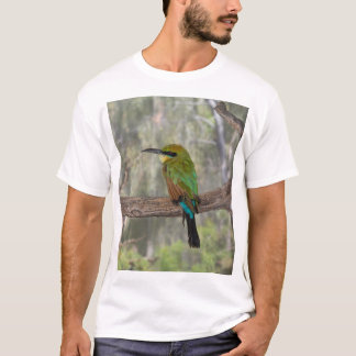 Rainbow bee-eater bird, Australia T-Shirt
