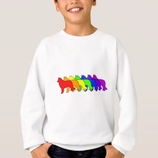 Rainbow Belgian Sheepdog Sweatshirt