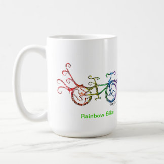 Rainbow Bike Coffee Mug