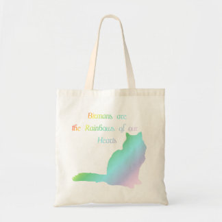 Rainbow Birman Tote Bag