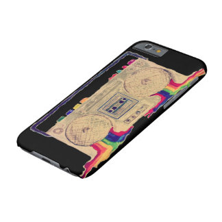 Rainbow Bleeding Stereo Barely There iPhone 6 Case