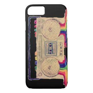 Rainbow Bleeding Stereo iPhone 7 Case