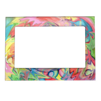 Rainbow Blender Picture Frame by Noelle Juliet