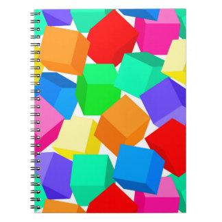 Rainbow blocks notebooks