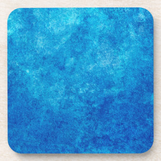 Rainbow Blue Beverage Coasters