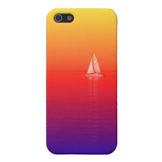 Rainbow Boat iPhone 5 Cover