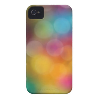 Rainbow Bokeh iPhone 4 Case-Mate Case